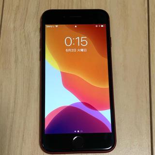 アップル(Apple)のiPhone8 レッド 256gb ジャンク品(スマートフォン本体)