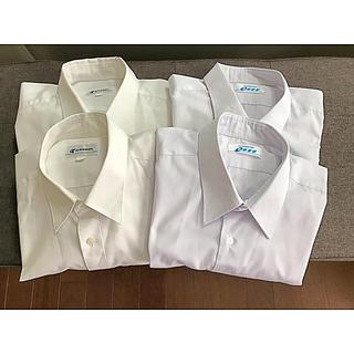 カッターシャツ4枚組(半袖、長袖 各二枚)