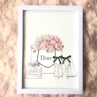 ディオール(Dior)の✩⡱フォトフレーム アートポスター  Dior8(フォトフレーム)