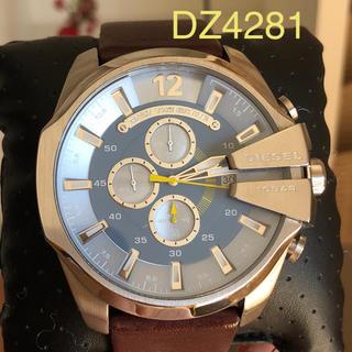 ディーゼル(DIESEL)の美品 ディーゼルDZ4281メンズ腕時計  稼働中(腕時計(アナログ))