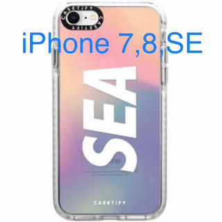 シー(SEA)のCASETIFY×WIND AND SEA  iPhone SE、7、8 ケース(iPhoneケース)