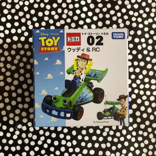 ディズニー(Disney)のトミカ トイストーリー ウッディ&RC 02 絶版(ミニカー)