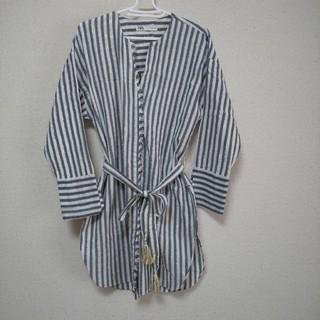 ZARA - ロングシャツ