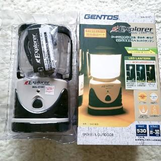 ジェントス(GENTOS)のGENTOS  LED  ランタン (ライト/ランタン)