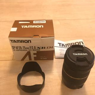 タムロン(TAMRON)の タムロン TAMRON 28-75mm F2.8 MACRO A09E(レンズ(ズーム))
