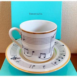 Tiffany & Co. - 【新品未使用】ティファニー1994年製特別限定版‼️ムーンリバーカップソーサ1客