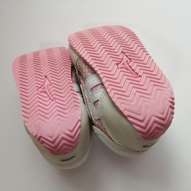 mikihouse(ミキハウス)の【専用】ミキハウス ミズノ スニーカー 13.5cm キッズ/ベビー/マタニティのベビー靴/シューズ(~14cm)(スニーカー)の商品写真