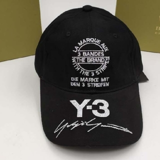 Yohji Yamamoto - Y-3 サインロゴキャップ帽子
