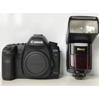 canon eos 5DMark2+おまけフラッシュNissinDi866Pro