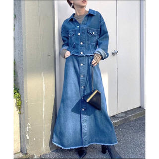 Ameri VINTAGE - AMERI VINTAGE デニム ワンピース スカート ジャケット アメリ