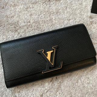 ルイヴィトン(LOUIS VUITTON)のルイヴィトン ポルトフォイユカプシーヌ ロングウォレット(財布)