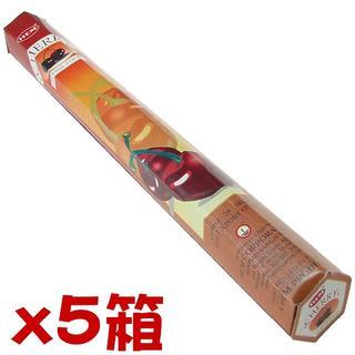 セール品!! 送料込!!【040】HEM チェリー 5箱セット(お香/香炉)