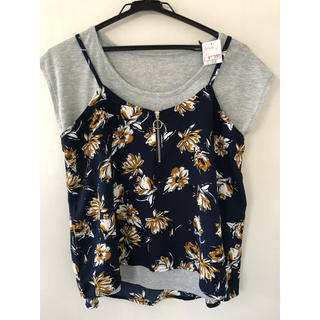 しまむら - 新品未使用品♥キャミソール Tシャツ 2点セット