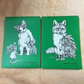 ヒグチユウコ クロッキーメモ2冊 ネコとネズミ