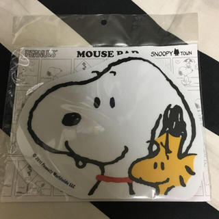 SNOOPY - 【新品・未使用】スヌーピー マウスパッド