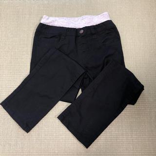 かずにゃん様専用 黒パンツ 130㎝ 綿パン 長ズボン(パンツ/スパッツ)