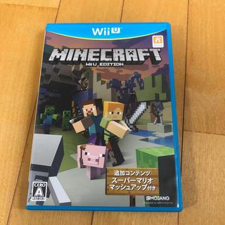 ウィーユー(Wii U)のMinecraft: Wii U Edition Wii U(家庭用ゲームソフト)
