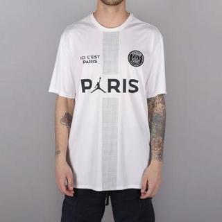 ナイキ(NIKE)の【L】PSG Jordan パリサンジェルマン POLY REPLICA TOP(Tシャツ/カットソー(半袖/袖なし))