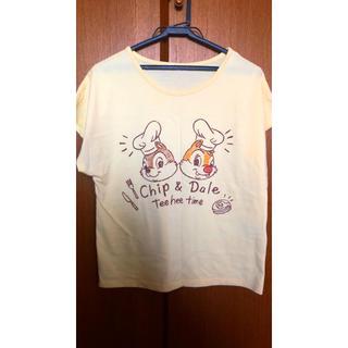 シマムラ(しまむら)の翌日発送!ディズニー 半袖Tシャツ チップとデール(Tシャツ(半袖/袖なし))