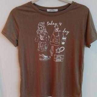 チュチュアンナ(tutuanna)のチュチュアンナ レディースTシャツ カーキM(Tシャツ(半袖/袖なし))