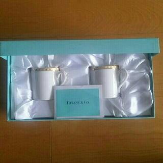 Tiffany & Co. - ティファニー☆ペアカップ&ソーサー新品未使用