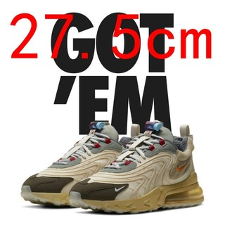 NIKE - 27.5Air Max 270 React ENG Cactus Trails