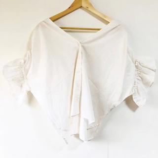 ZARA - コットン100%着やすい(๑˃̵ᴗ˂̵)✨‼️❤️merlot❤️フリル袖