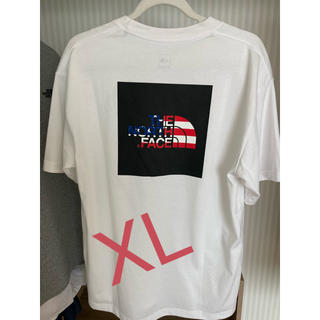 THE NORTH FACE - National Flag Square Logo Tee