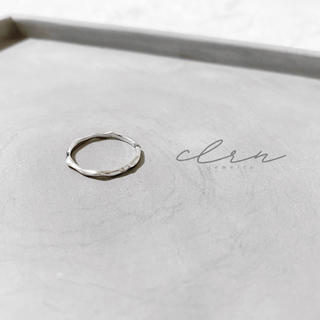 エテ(ete)の〝限定特別価格〟silver925 スィン アーチ オープンリング (リング(指輪))