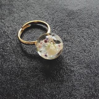 かすみ草 指輪(リング)
