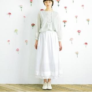 SM2 - 【新品タグ付】SM2 裾重ねレースペチスカート