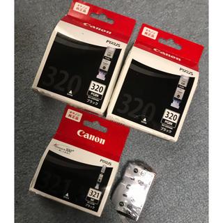 キヤノン(Canon)のCanon純正品インク 320PGBK(2個)321BK(2個)(PC周辺機器)