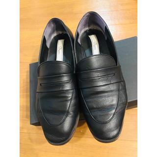 トゥモローランド(TOMORROWLAND)の金子綾コラボ・ペニーローファー24.5cm(ローファー/革靴)