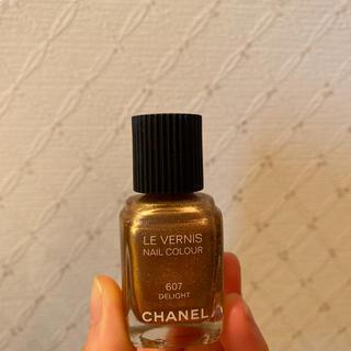 CHANEL - CHANEL ヴェルニ607 ネイルカラーテスター