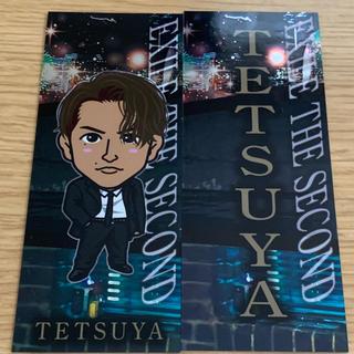 エグザイル(EXILE)のTETSUYA 千社札・クリアチャーム(ミュージシャン)