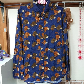 メルシーボークー(mercibeaucoup)のメルシーボークー ヨコケンパナマシャツ(シャツ)