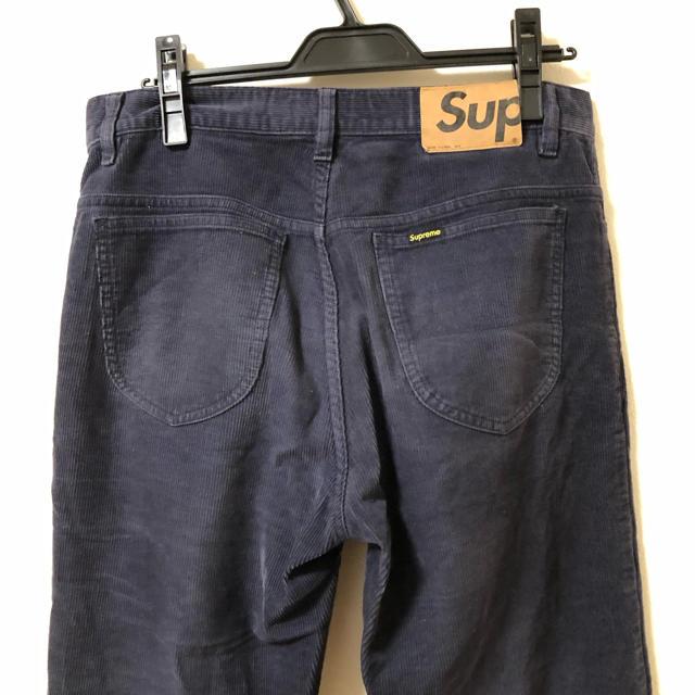 Supreme(シュプリーム)のSUPREME シュプリーム  コーデュロイ ワンポイント パンツ M メンズのパンツ(その他)の商品写真
