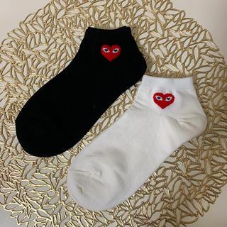 COMME des GARCONS - 靴下 二足セット くるぶし丈