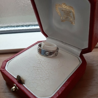 Cartier - カルティエ WG ハーフダイヤ 7号