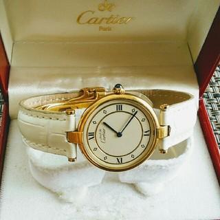 Cartier - CARTIER カルティエ マストヴェルメイユ メンズ 腕時計 電池新品