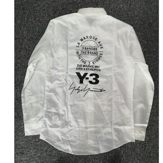 Y-3 - ワイスリー ヨージヤマモト シャツ カッコイイ ホワイト 白
