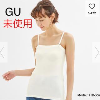 ジーユー(GU)の【未使用】GU ブラフィールチューブトップ(ベアトップ/チューブトップ)