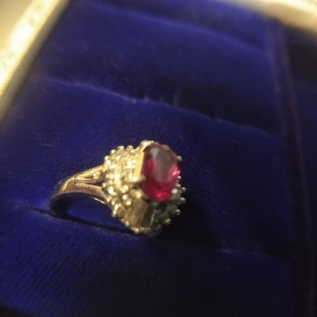 限定値下げ ルビーダイヤリング 11号 プラチナ900 レディースのアクセサリー(リング(指輪))の商品写真