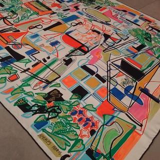 エルメス(Hermes)のHERMESカレ90センチスカーフ(バンダナ/スカーフ)