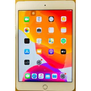 アップル(Apple)の【美品】iPad mini 4 128GB WiFi+セルラー simフリー版(タブレット)