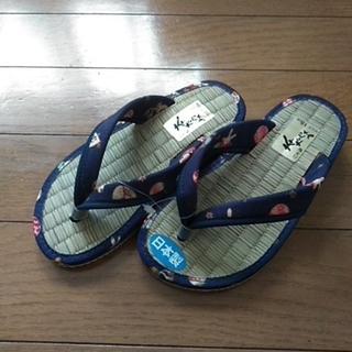 子供用 草履(18cm)日本製(下駄/草履)