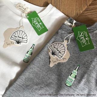 シールームリン(SeaRoomlynn)のSeaRoomlynn SpriteコラボTシャツ グレー(Tシャツ(半袖/袖なし))