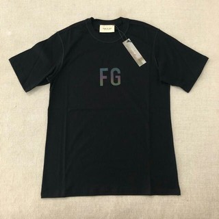 FEAR OF GOD - FOG Essentials リフレクターロゴ Tシャツ Sサイズ