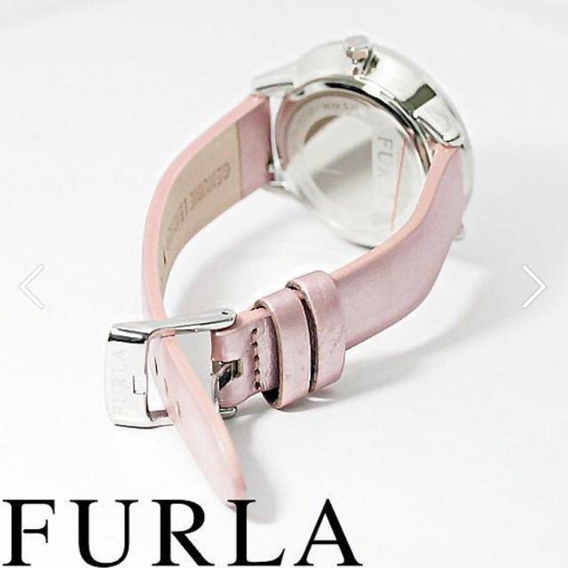Furla(フルラ)の箱付き新品★FURLA 定価31,900円 メトロポリス 腕時計 ピンク レディースのファッション小物(腕時計)の商品写真