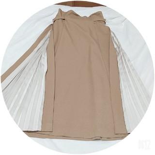 ジルバイジルスチュアート(JILL by JILLSTUART)の新品サイドプリーツスカート(ひざ丈スカート)